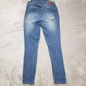 Dollhouse Jeans - Dollhouse Denim Overall Ripped Jean Jumper
